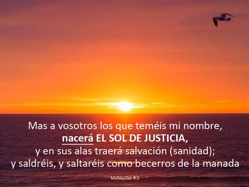 El Sol de Justicia