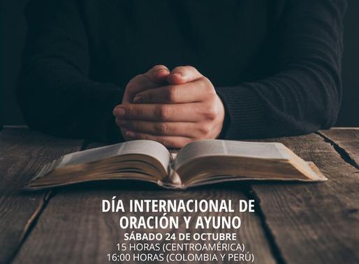 Boletín de oración / 19 de octubre del 2020
