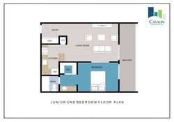 CMA Junior 1 Bedroom