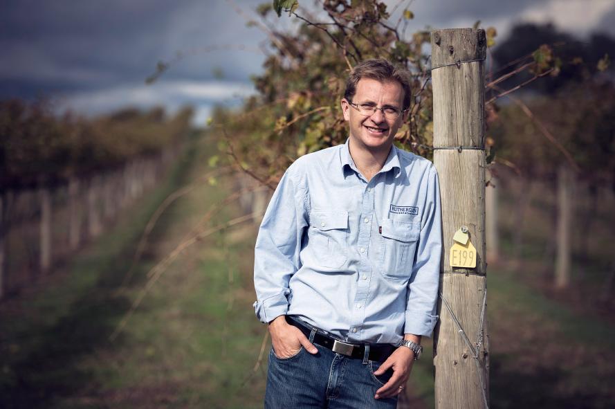 Matt Partridge, Viticulturist.