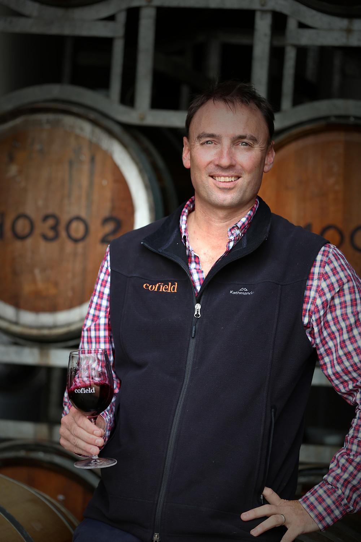 Damien Cofield, winemaker.