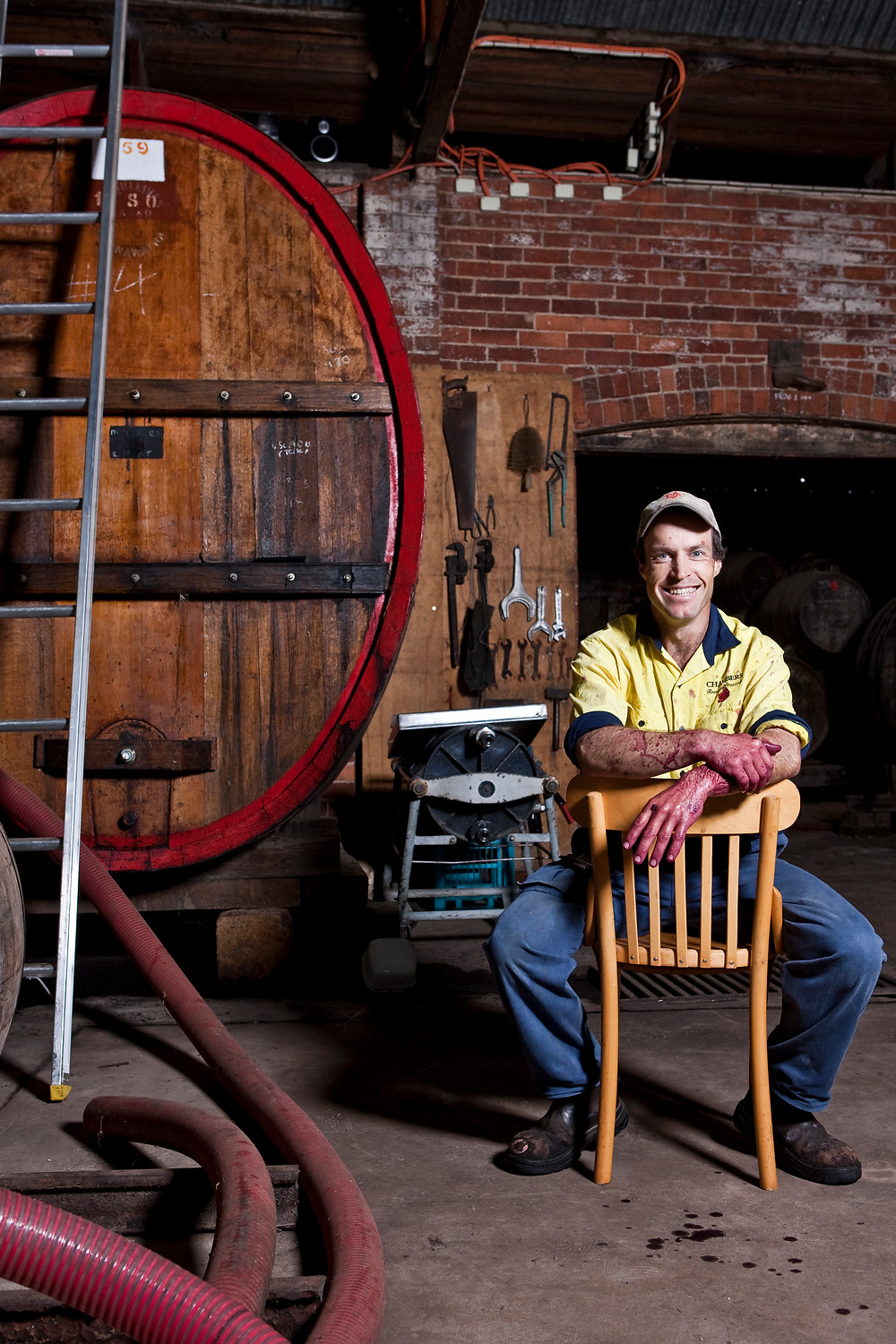 Stephen Chambers, Winemaker.
