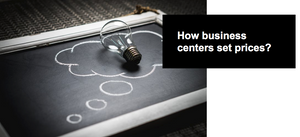 how business centers set prices