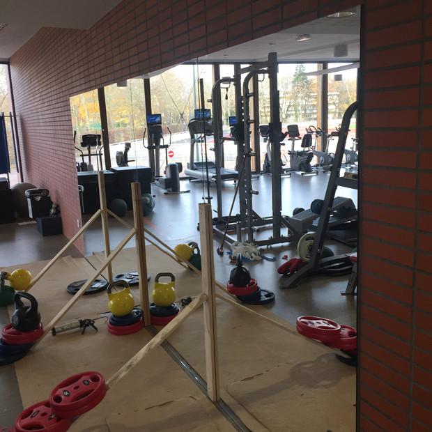 Rénovation salle-de-sport
