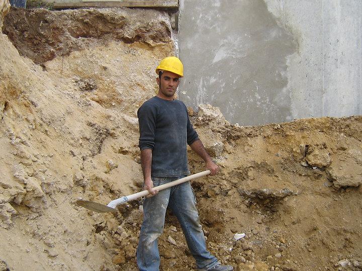 Construction, travaux d'extérieur