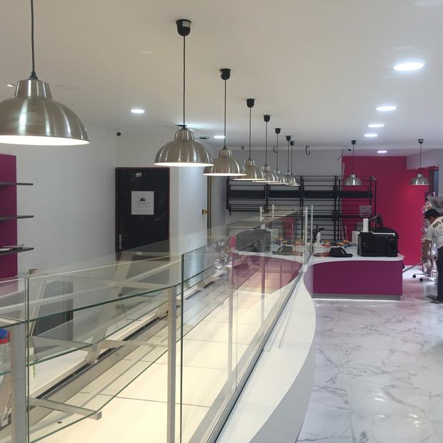 Rénovation boulangerie traiteur