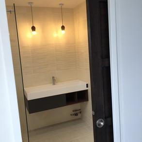 Aménagement de salle-de-bain