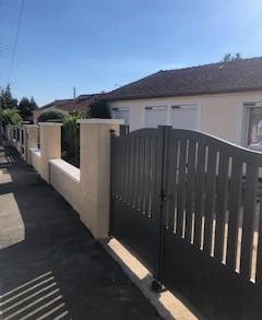 Pose de portail et clôture