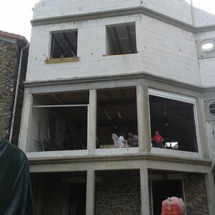 Construction d'habitation