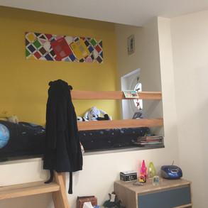 Peinture décorative pour chambre d'enfants