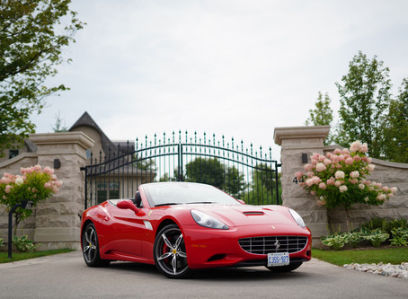 Affinity Luxury Cars x Ferrari California
