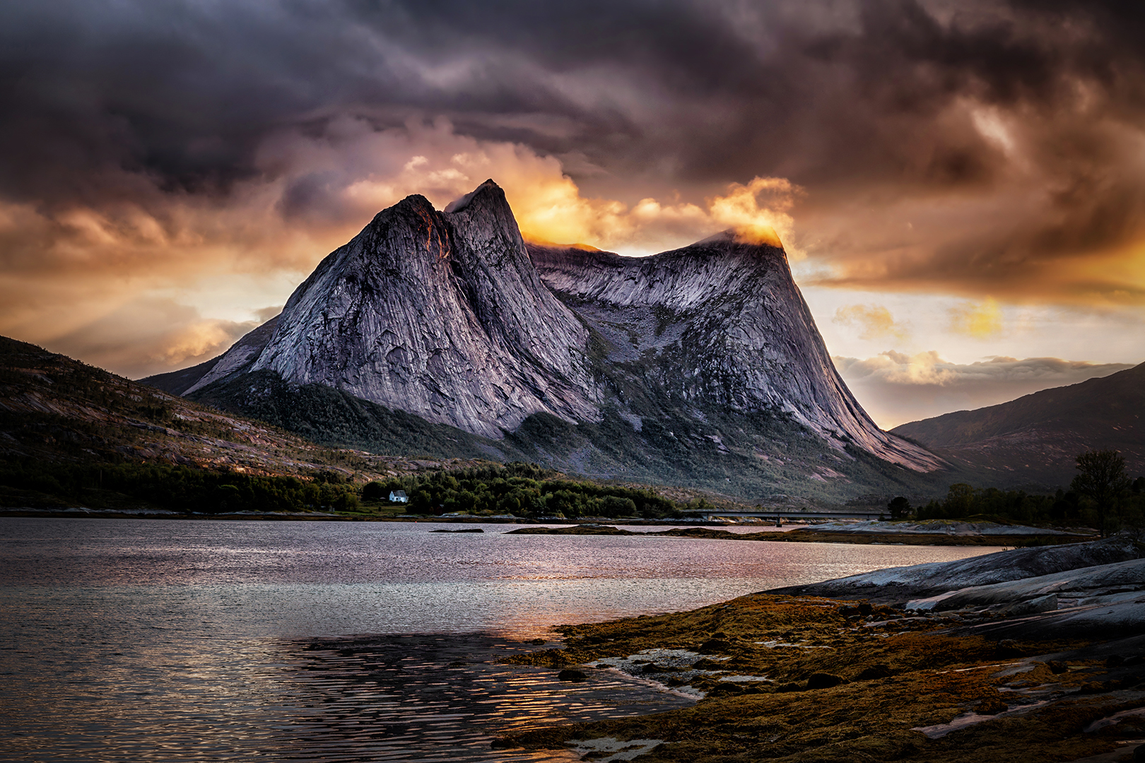 Last light - Norway