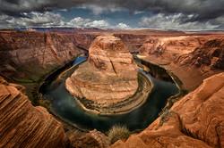 Horshoe Bend, Colorado River, USA