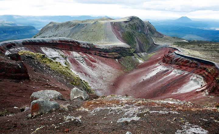 Tarawera Crater