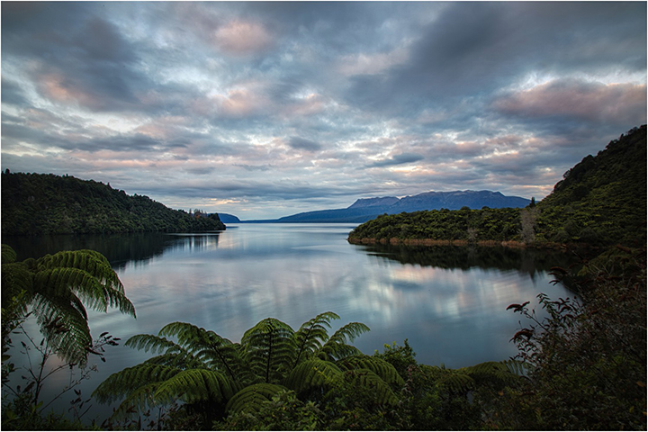 Lake Tarawera from the Landing