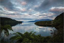 Lake Tarawera from the Landing