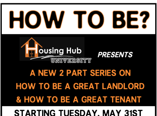 How to be a great Tenant/Landlord?
