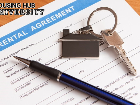 Housing Hub University - HOW TO BE A GREAT TENANT #1