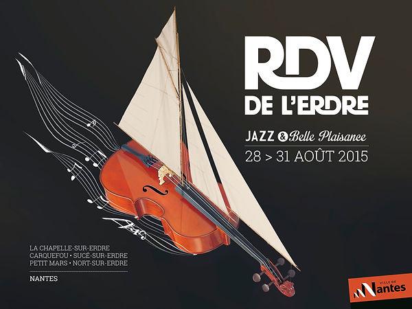 rdv erdre affiche 4x3 violoncelle voilier musique jazz