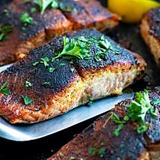 Honey Blackened Salmon