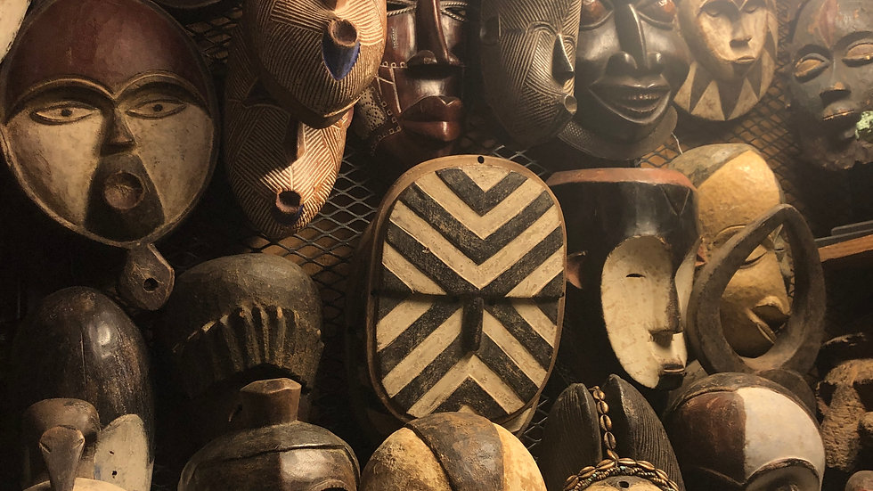 Assorted Tribal Masks