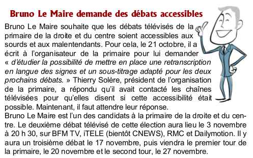 Bruno Le Maire LSF