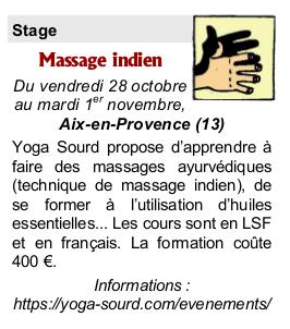 massage indien LSF