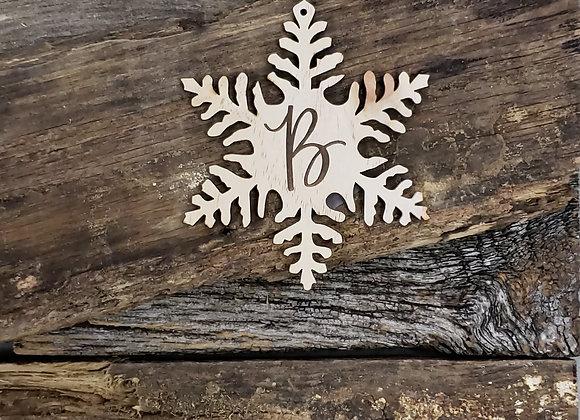 Hannah Initial Ornament