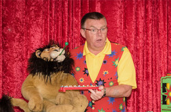 Emazdad and Marmite the lion