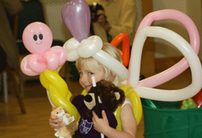 Walkabout balloon modelling