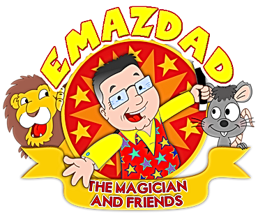 Emazdad the magician childrens entertainer plymouth, devon cornwall, UK