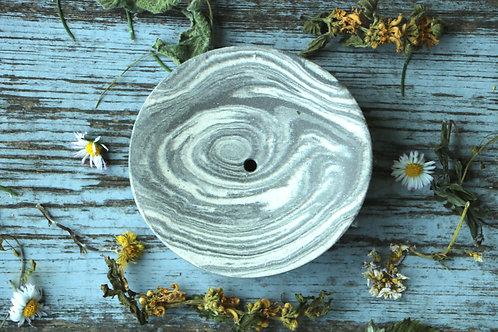 Handgemachte Seifenschale aus Ton