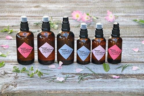 Körper- & Massageöl 100 ml Glasflasche mit Fluidpumpe (vegan) 100% naturrein