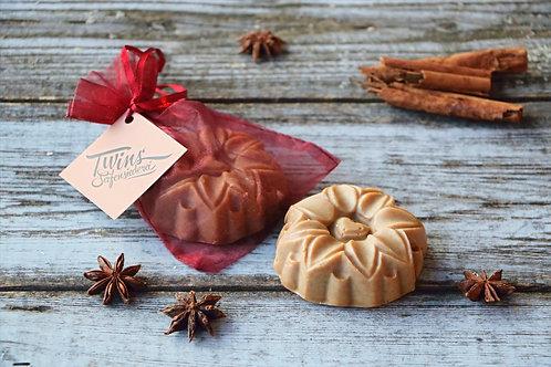 Apfel, Zimt & Vanille (vegan) Shampoo-, Rasier- & Duschseife