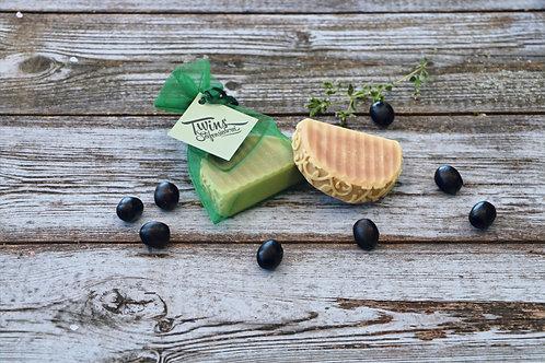 Reine Olivenölseife (vegan)