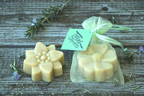 Rosmarin-Brennnessel Seife für jeden Haut- & Haartyp (vegan)