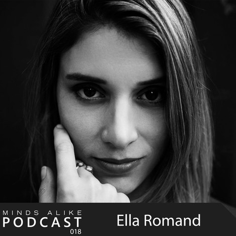 Ella Romand records a stunning podcast for Minds Alike.
