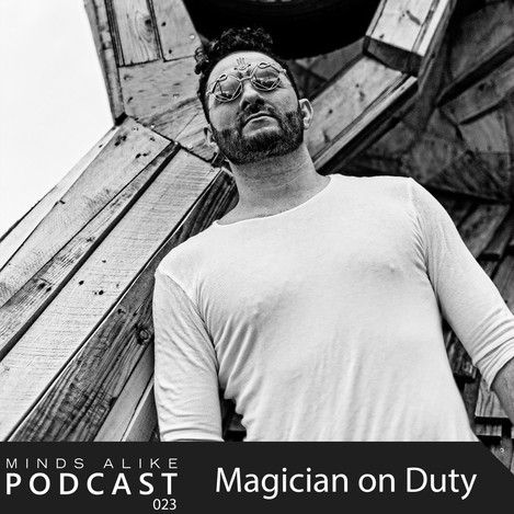 Magician on Duty explores deep vibes with his Podcast for Minds Alike.