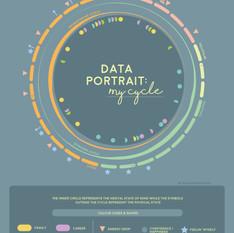 Data Portrait: My cycle