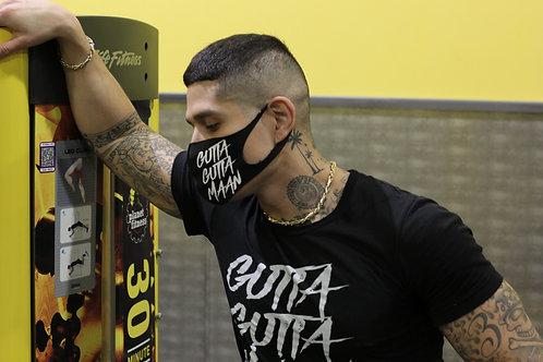 Gutta Maan FaceMask (Black & White)