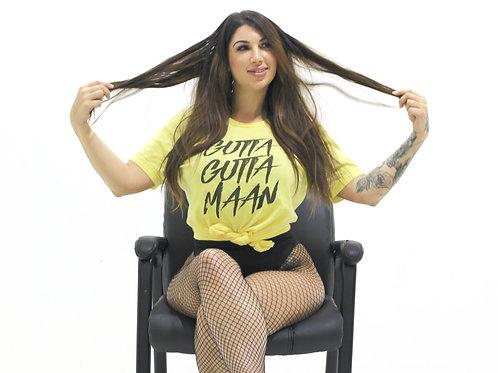 Gutta Maan Crew Neck (Yellow)