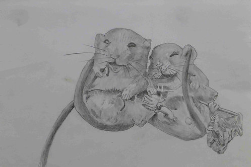 Two Mice on aTwig