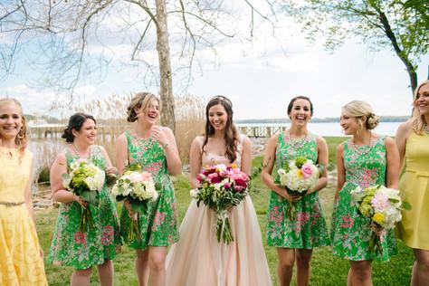 Danielle's Bridal Party