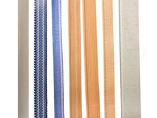 Flach- und Wulstbänder aus Polyester oder Baumwolle in diversen Farben