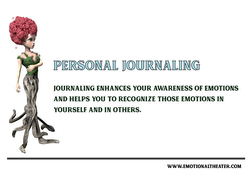 8 BASIC EMOTION PERSONAL JOURNAL PRINTABLE PDF- THE QUEEN