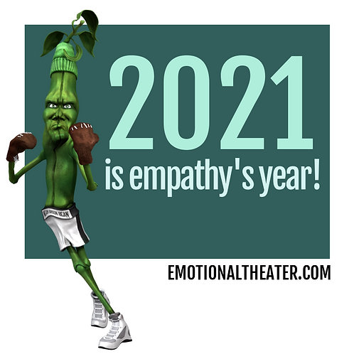 """FREE """"2021 IS EMPATHY'S YEAR"""" 12 MONTH CALENDAR"""