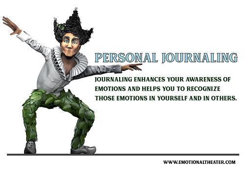8 BASIC EMOTIONS PERSONAL JOURNAL PRINTABLE PDF- JESTER LESTER