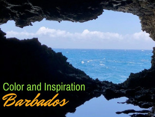 A little inspiration from Barbados