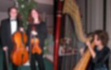 Harp Violin Cello trio