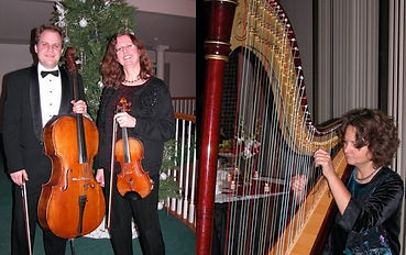 Harp Violin Cello trio